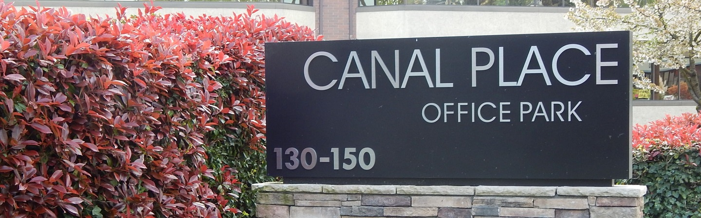 Photograph of sign for Canal Place Office Park